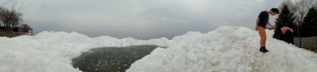 Lake Winnebago Ice Shoves