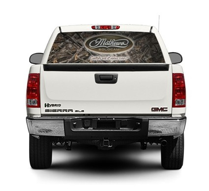 Mathews Truck Window Decal