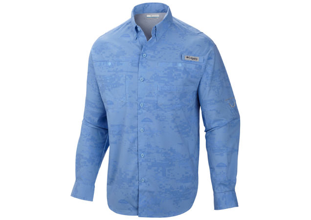 Columbia Solar Camo Fishing Shirt