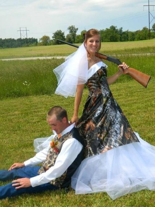 Camo Wedding Pictures To Pin On Pinterest