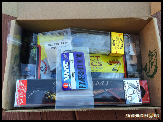 Monthly Tackle Box Service
