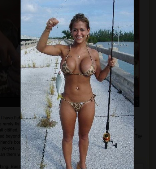 Sexy woman fisherman sex