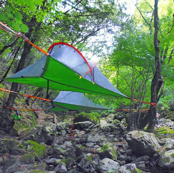 : tents suspended in trees - memphite.com