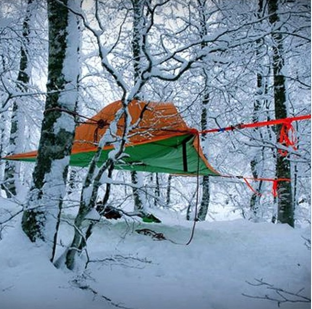 Heavy Duty Materials from Tentsile. Suspended tent & Tentsile Stingray Hanging Tent Review