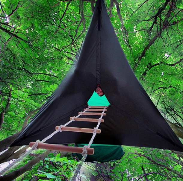 In Air C&ing Tent & Tentsile Stingray Hanging Tent Review