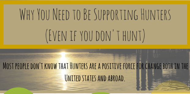 Hunters Support Conservation