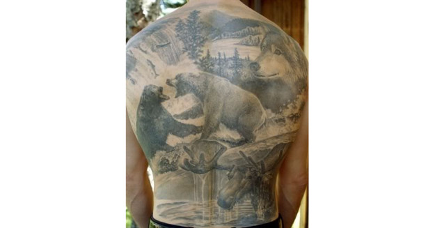 10 cool hunting tattoos