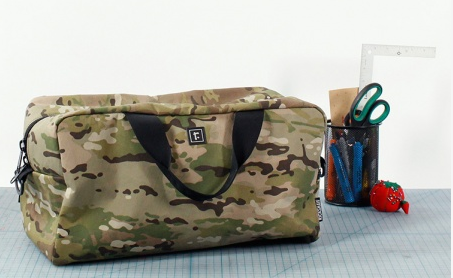 Rickshaw Bagworks Camo Duffle Bag Review