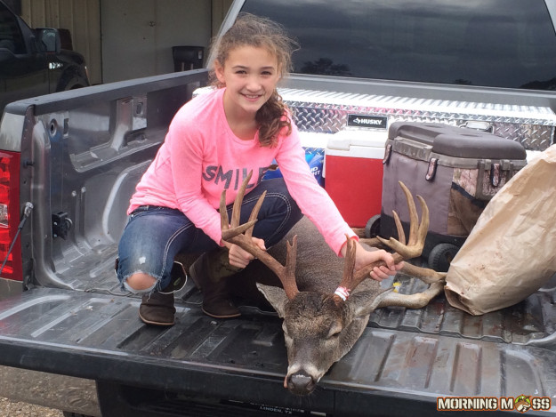 10 year old girl buck kill